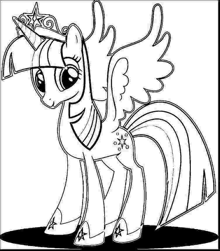 princess twilight sparkle coloring pages my little pony coloring pages princess twilight sparkle at coloring princess twilight sparkle pages