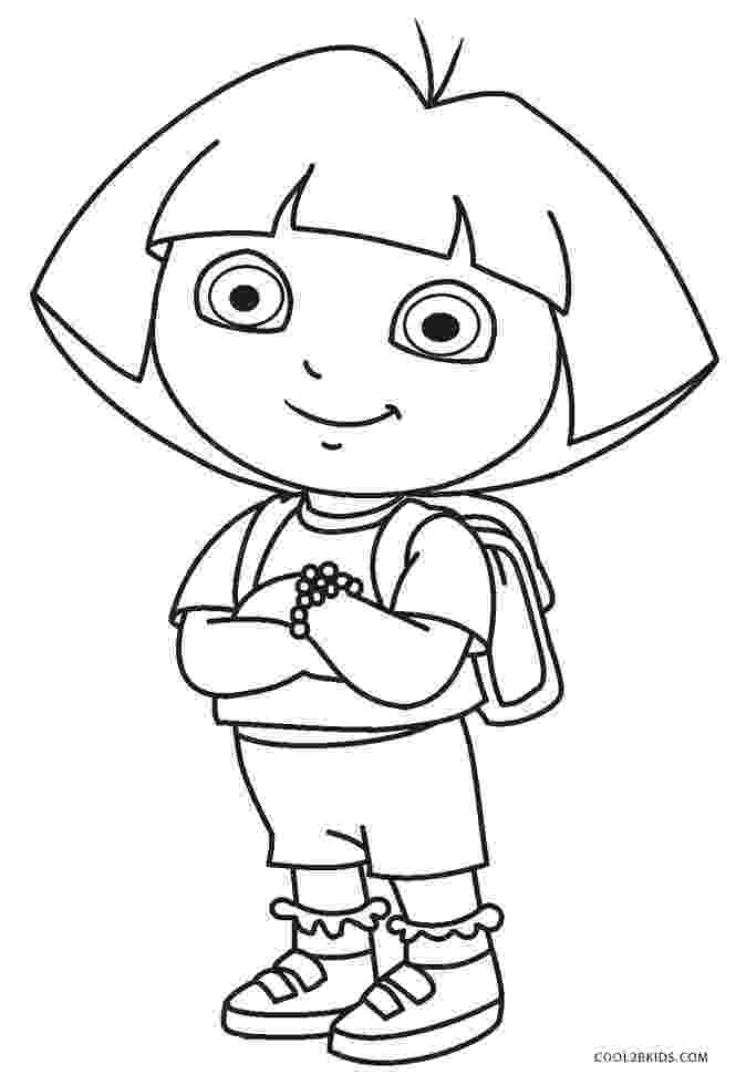 print dora coloring pages free printable dora the explorer coloring pages for kids dora coloring print pages