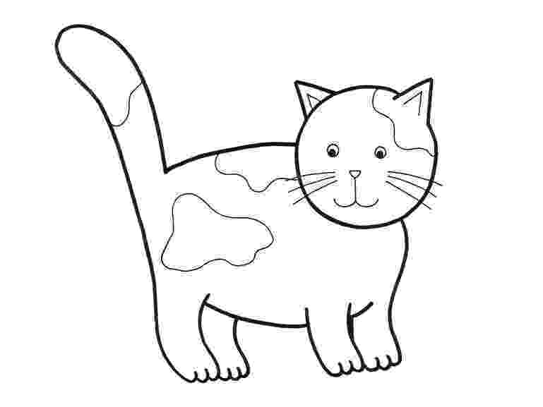 printable cat pictures to color free cat coloring pages color printable to cat pictures
