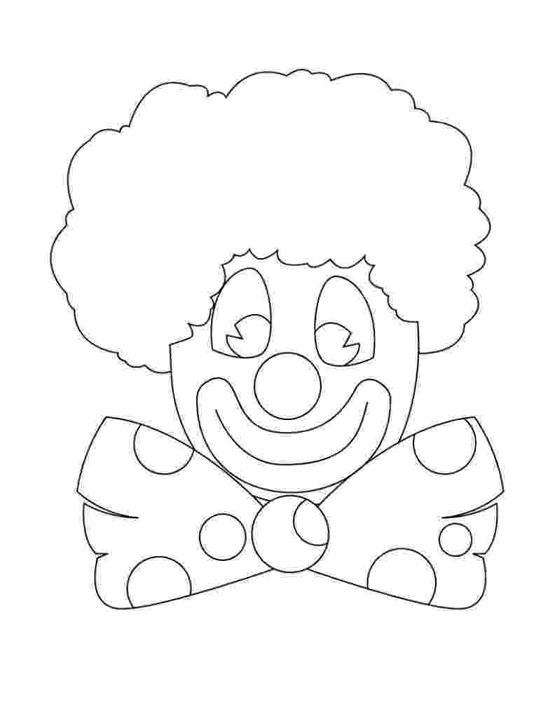 printable clown pictures free printable clown coloring pages for kids pictures clown printable