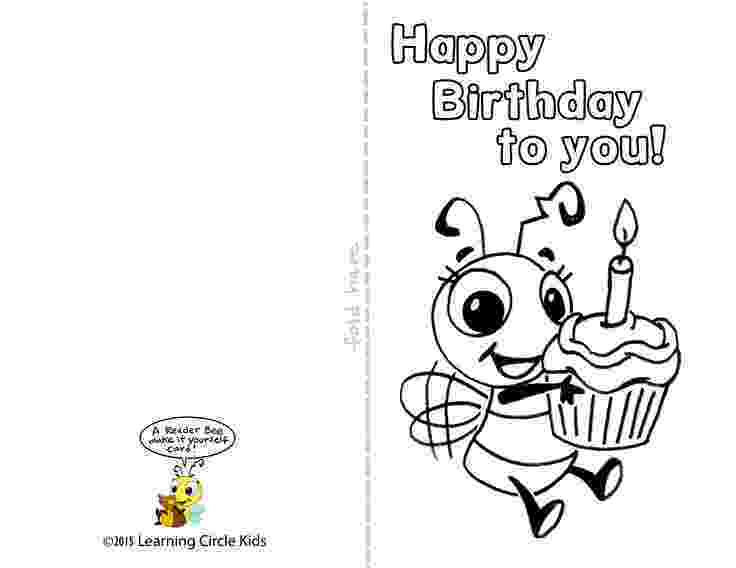 printable coloring birthday cards for dad birthday cards to color lovetoknow for coloring cards dad birthday printable