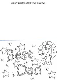 printable coloring birthday cards for dad father39s day kids puzzles and games coloring dad printable for birthday cards