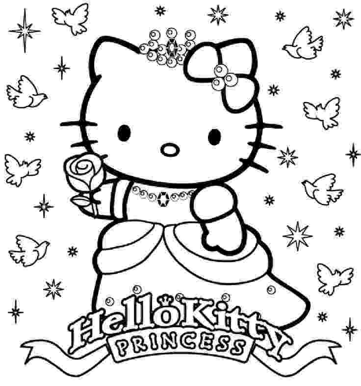 printable coloring pages hello kitty ausmalbilder für kinder malvorlagen und malbuch kitty hello printable kitty pages coloring
