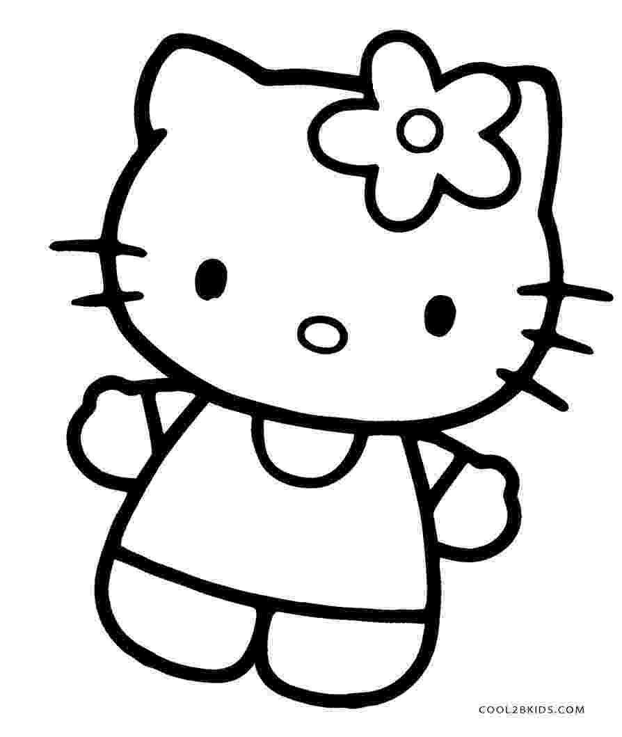 printable coloring pages hello kitty free printable hello kitty coloring pages for pages hello coloring pages kitty printable
