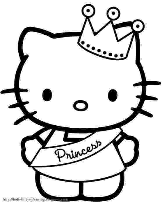 printable coloring pages hello kitty free printable hello kitty coloring pages for pages hello kitty pages coloring printable