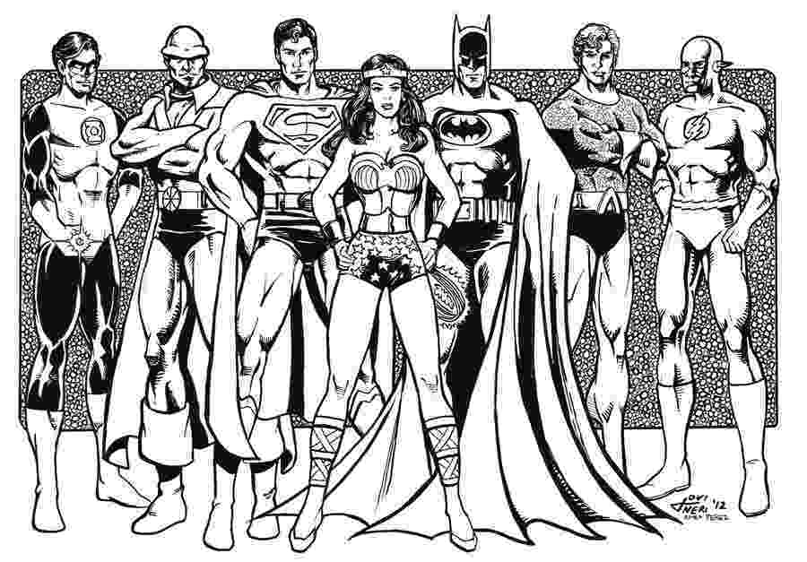 printable coloring pages justice league justice league coloring pages getcoloringpagescom league pages printable coloring justice