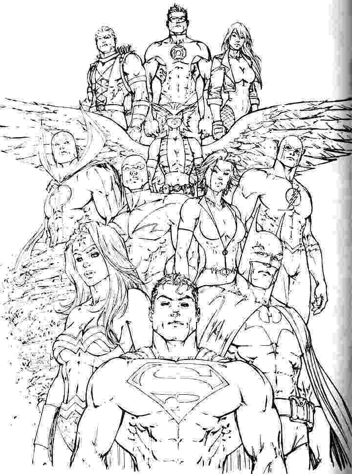 printable coloring pages justice league justice league coloring pages kidsuki pages printable justice coloring league