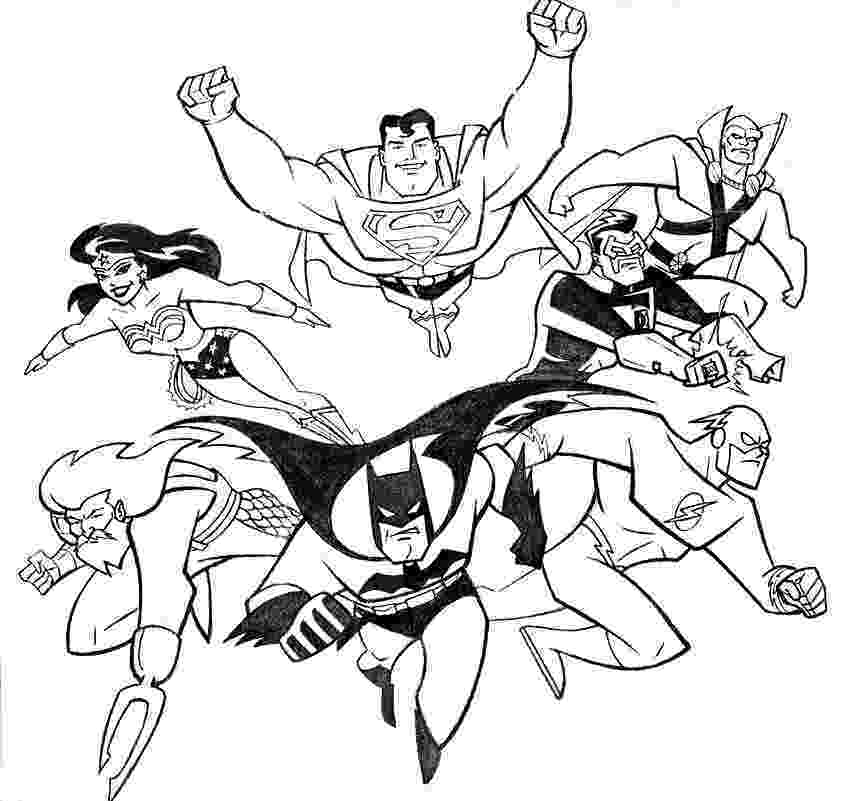 printable coloring pages justice league justice league coloring pages to download and print for free league justice coloring pages printable