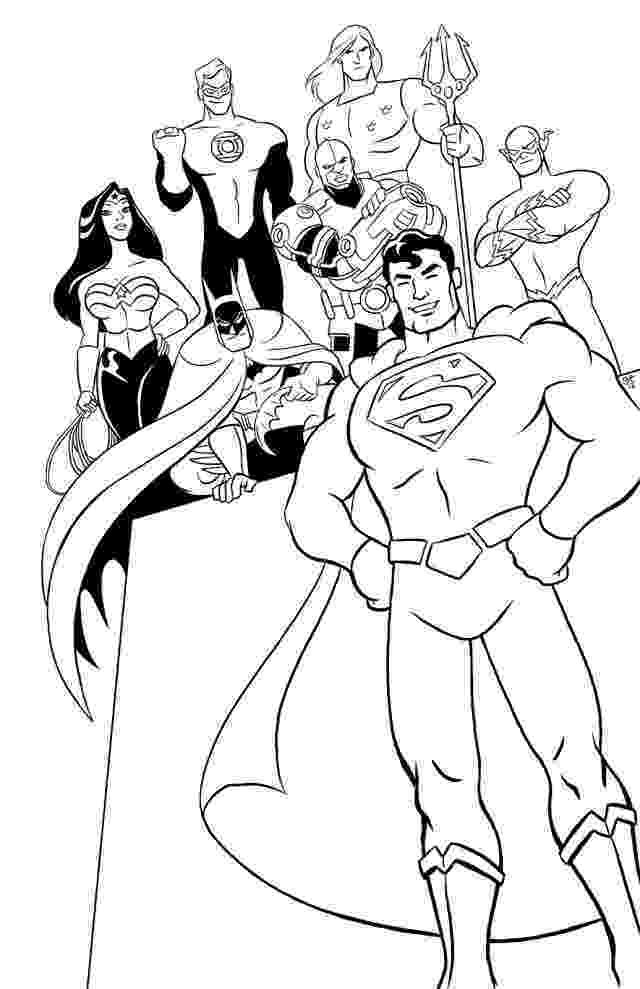 printable coloring pages justice league justice league coloring pages to download and print for free league printable pages justice coloring
