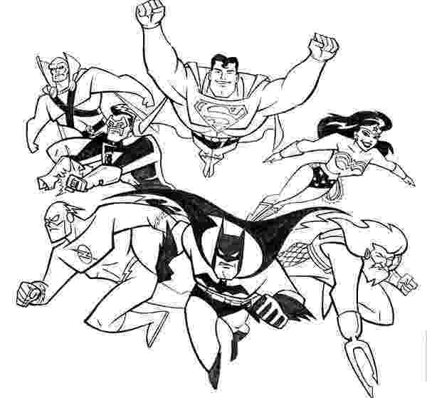 printable coloring pages justice league justice league international coloring page netart coloring league pages justice printable