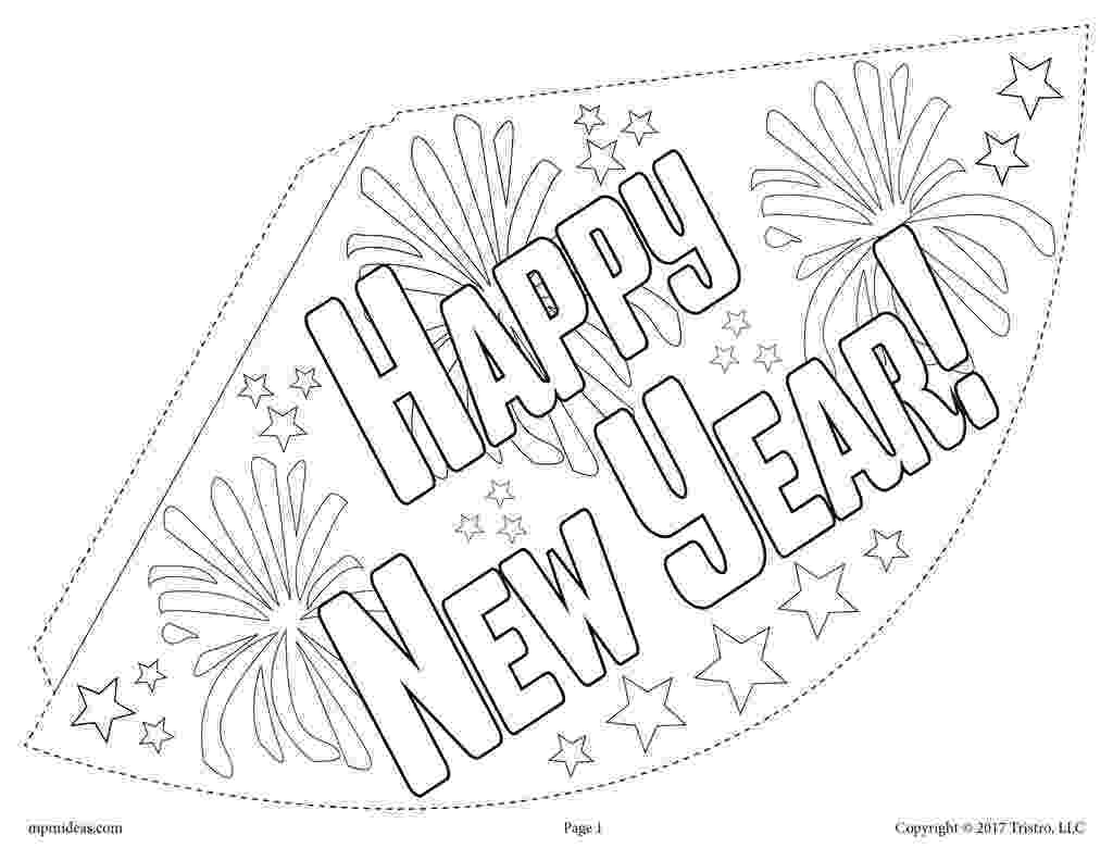 printable coloring pages new years eve 2018 new year39s eve party printables free coloring sheet new eve coloring pages years printable