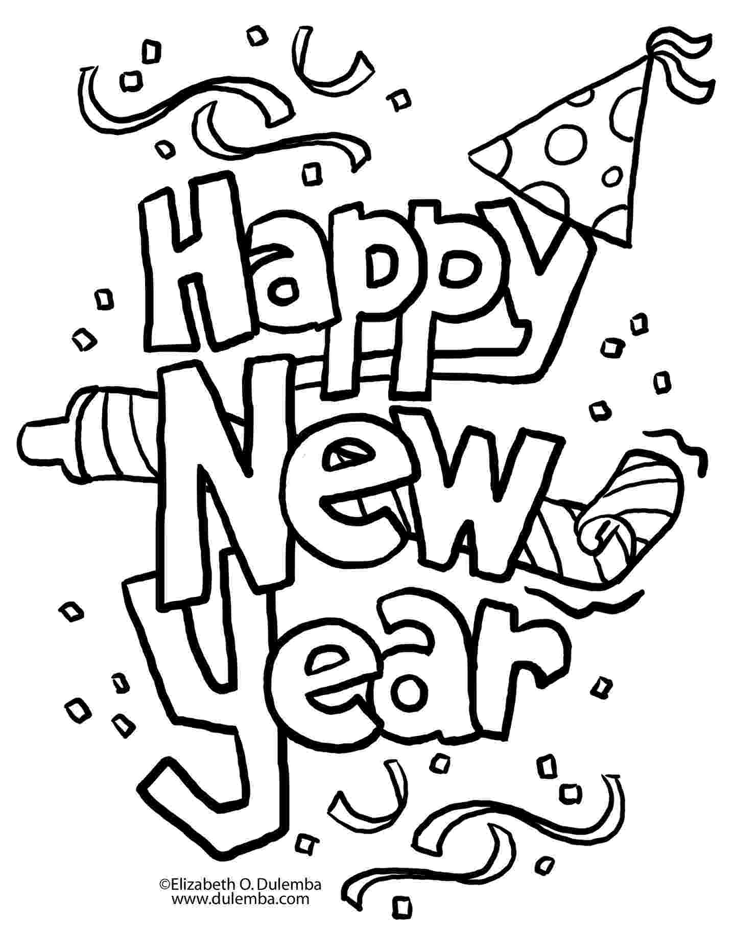 printable coloring pages new years eve free printables activities for a family new years party pages printable years coloring eve new