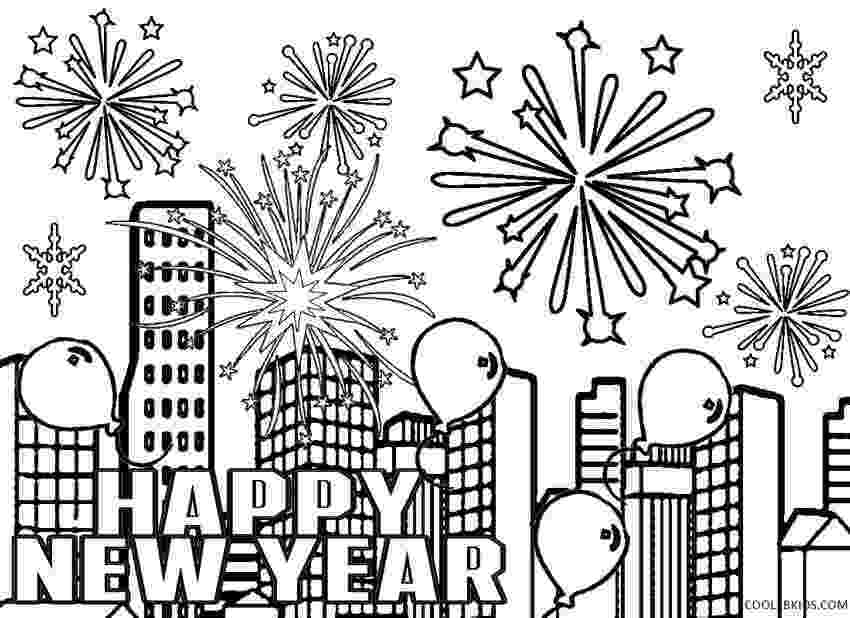 printable coloring pages new years eve happy new year 2018 coloring pages new year coloring coloring printable pages years new eve