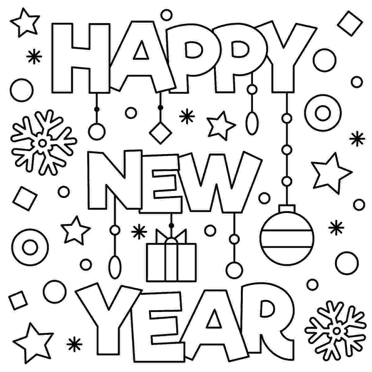 printable coloring pages new years eve new years eve coloring pages tip junkie pages eve coloring years new printable