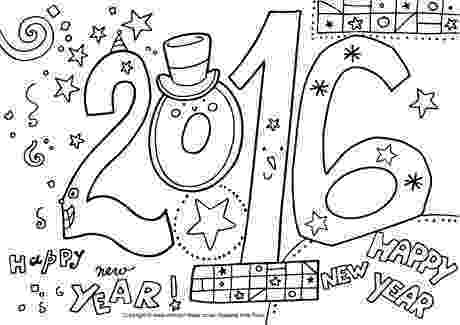 printable coloring pages new years eve printable eve pages coloring new years