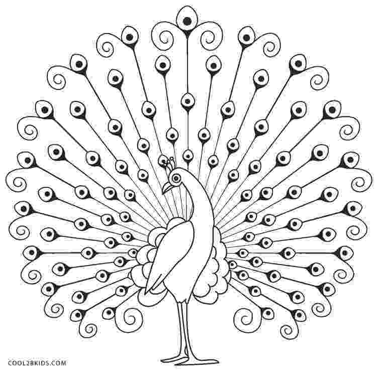 printable coloring pages peacock peacock coloring pages to download and print for free pages coloring peacock printable