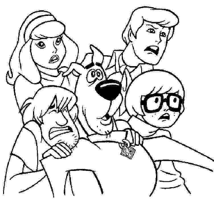 printable coloring pages scooby doo scooby doo wallpapers and coloring pages scooby doo printable coloring pages