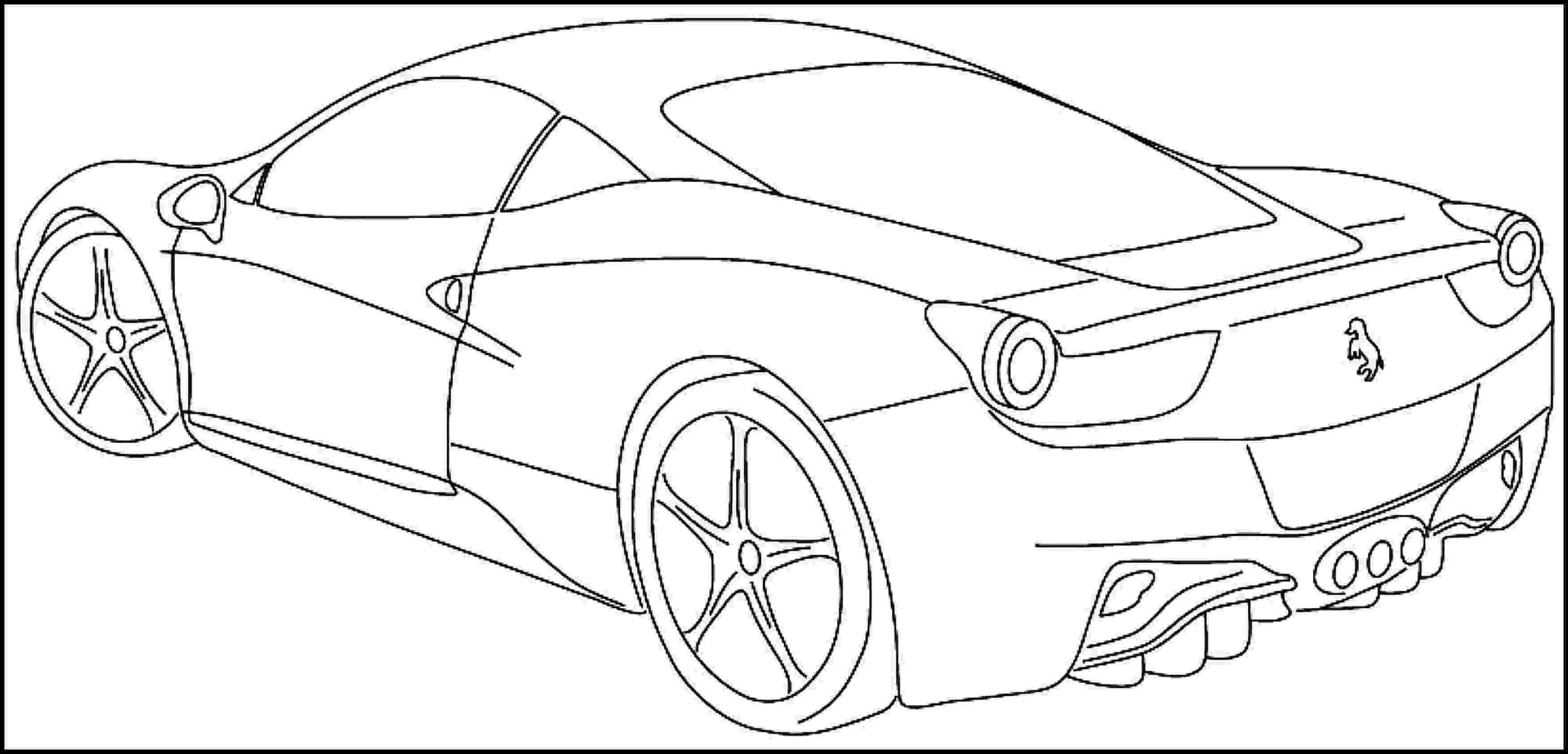printable coloring pages sports cars printable sports car coloring pages for kids teens sports printable cars coloring pages