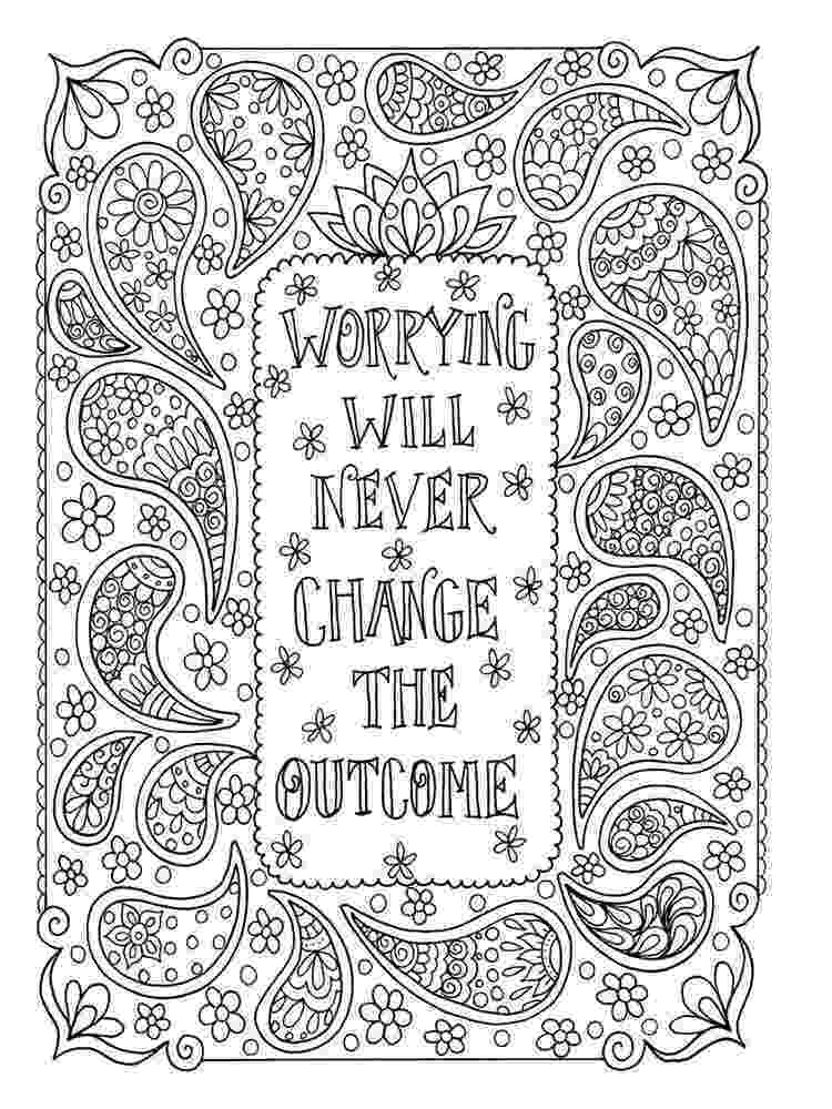 printable coloring quote pages for adults coloring page adult coloring coloring book by adults for quote coloring pages printable