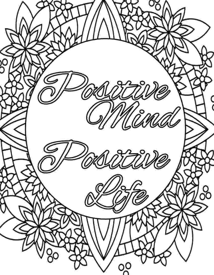 printable coloring quote pages for adults inspirational quote coloring page to print and color adult quote for printable coloring pages adults
