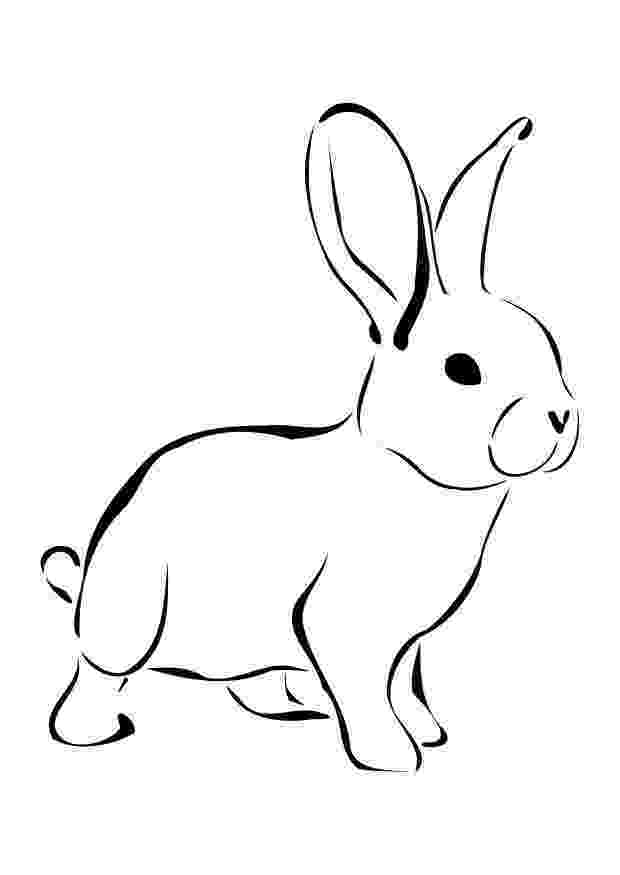printable coloring rabbit 60 rabbit shape templates and crafts colouring pages printable rabbit coloring