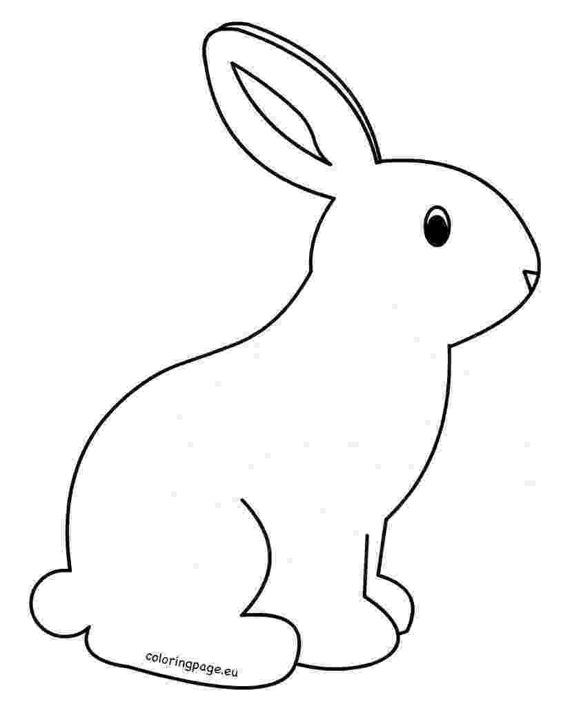 printable coloring rabbit free rabbit coloring pages printable rabbit coloring