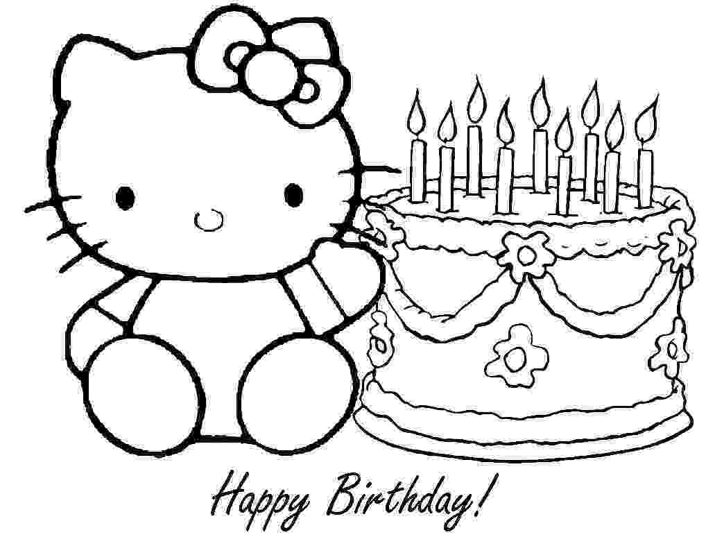 printable colouring birthday pictures 20 best images about birthday coloring pages on pinterest colouring printable pictures birthday