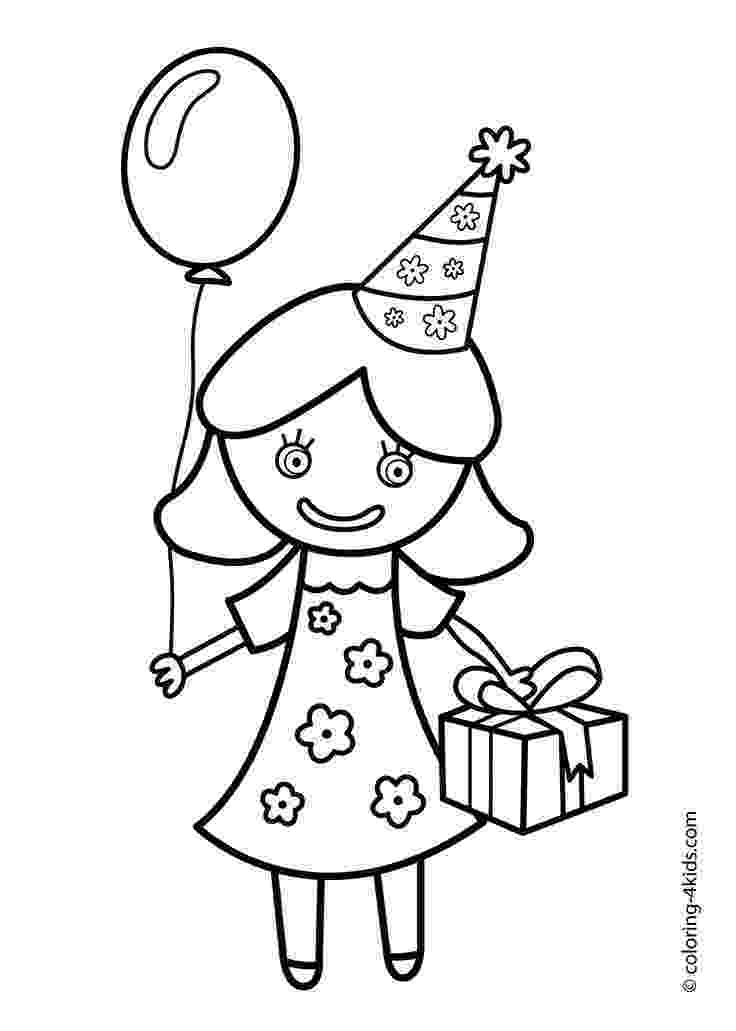 printable colouring birthday pictures free printable birthday cake coloring pages for kids pictures birthday colouring printable
