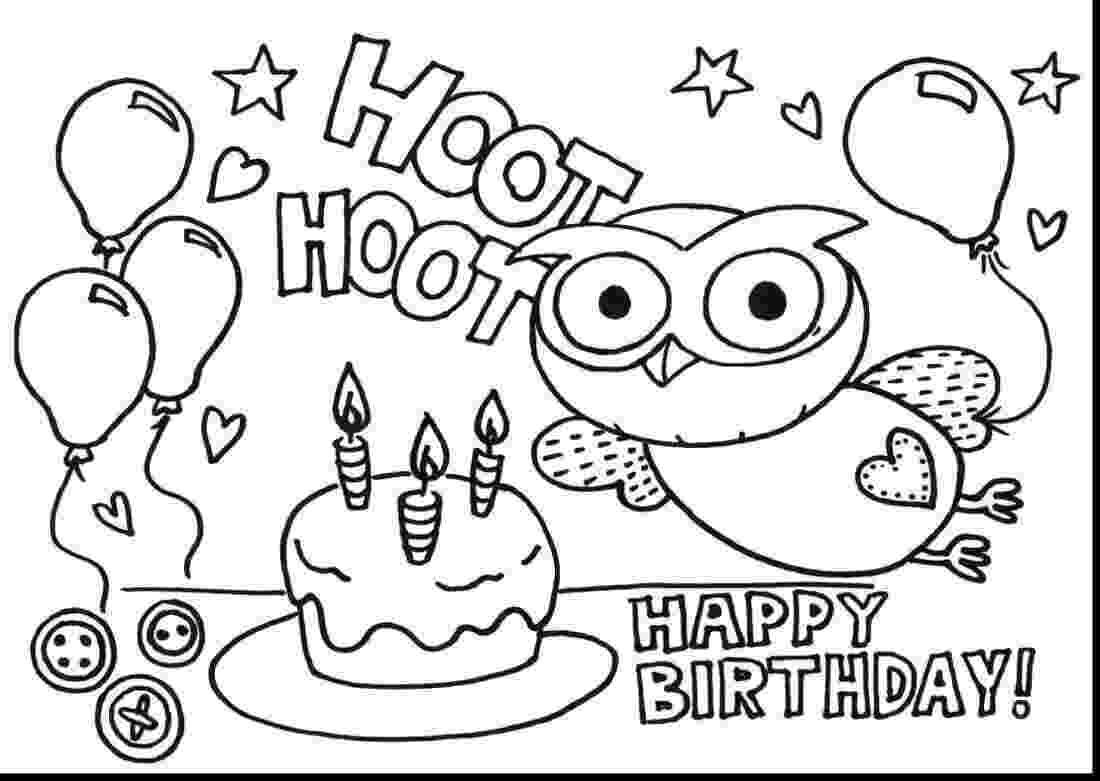 printable colouring birthday pictures free printable happy birthday coloring pages for kids pictures colouring birthday printable