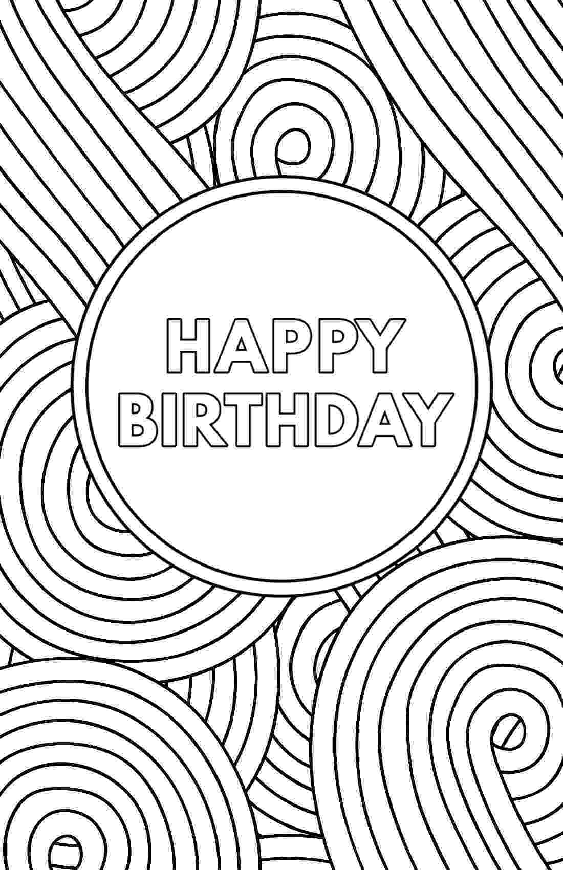 printable colouring birthday pictures happy birthday coloring pages to download and print for free pictures colouring printable birthday