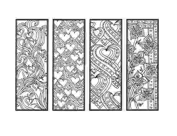 printable colouring bookmarks diy valentine39s day bookmarks printable coloring page bookmarks printable colouring