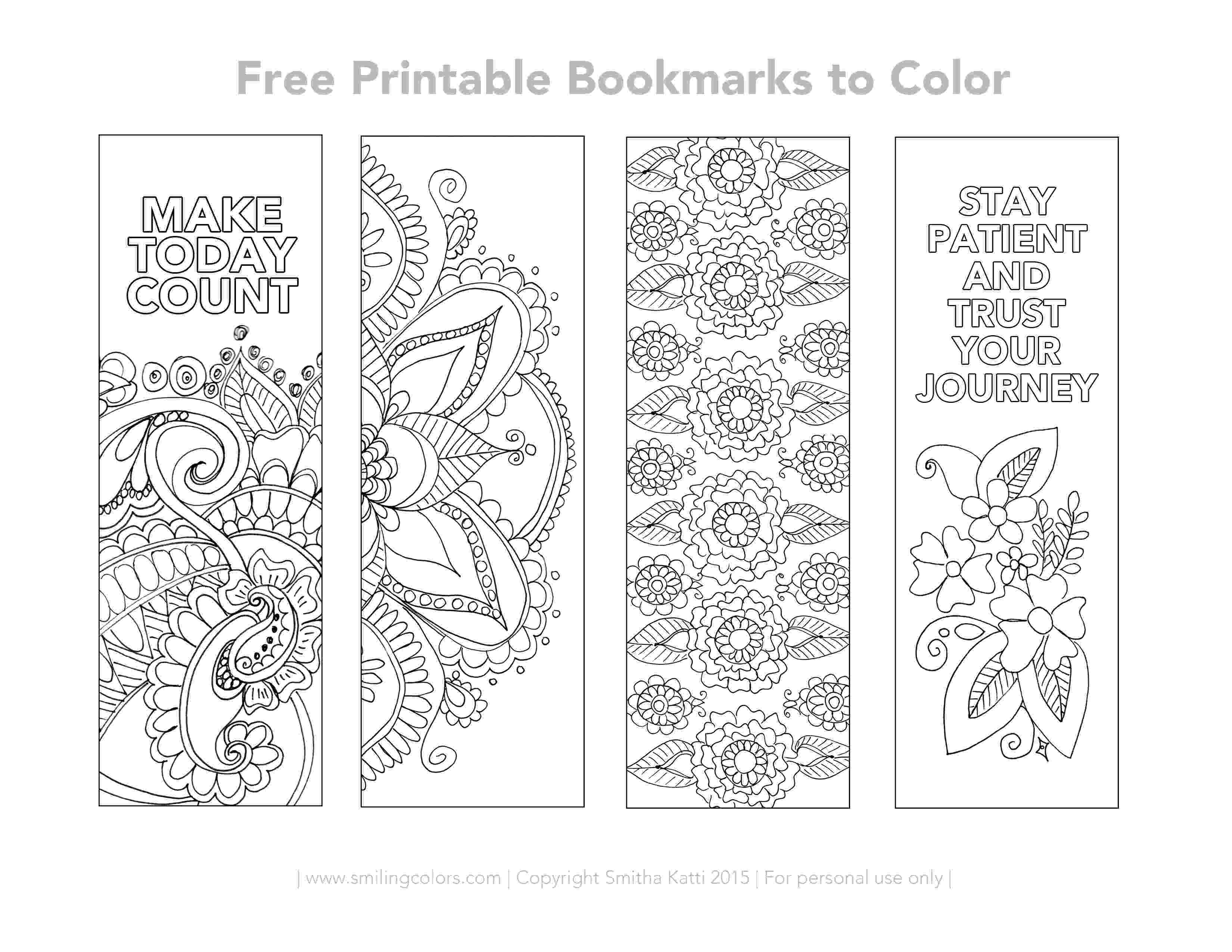 printable colouring bookmarks full of flower bookmarks coloring pages 600450 scribner colouring printable bookmarks