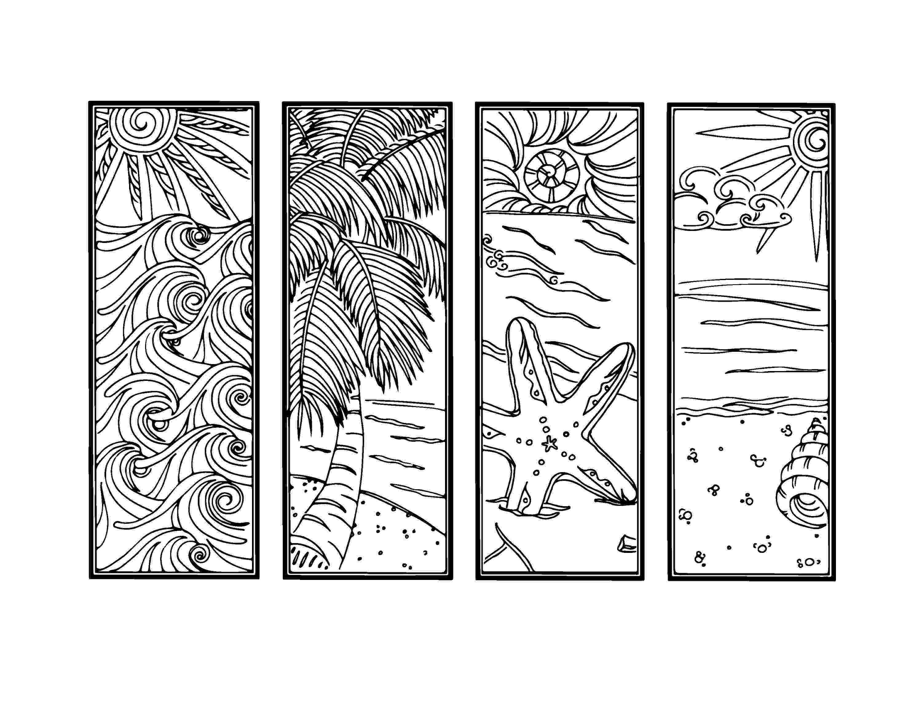 printable colouring bookmarks printable coloring bookmark templates with four designs plus colouring bookmarks printable