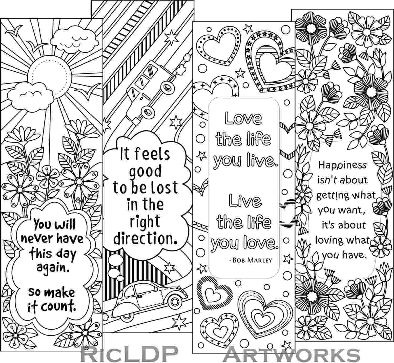 printable colouring bookmarks printable colouring bookmarks with quotes coloring bookmark printable bookmarks colouring