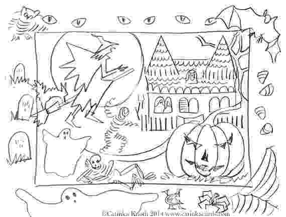printable colouring halloween cards musings of an average mom free halloween cards to color printable halloween colouring cards