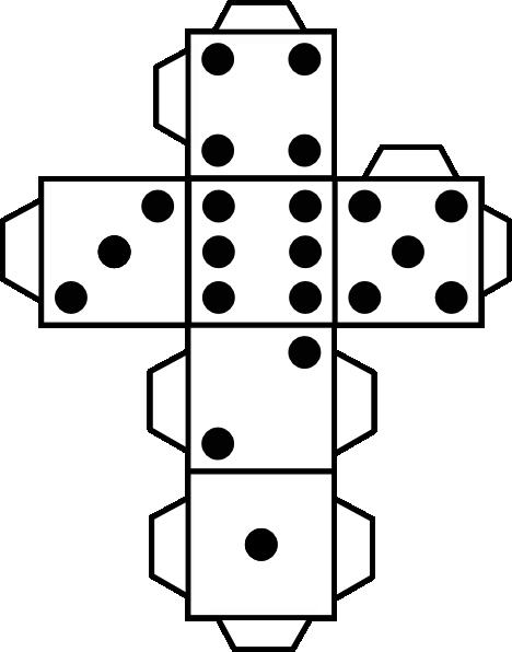 printable dice big dice template large printable dice template dice printable dice