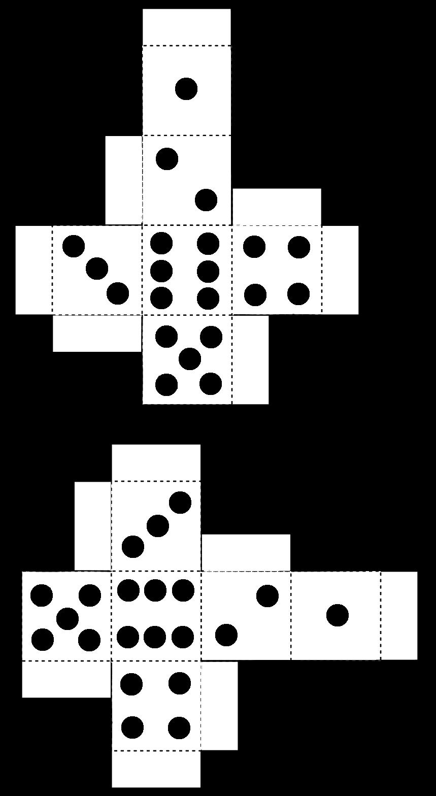 printable dice dice template pdf free download printable printable dice
