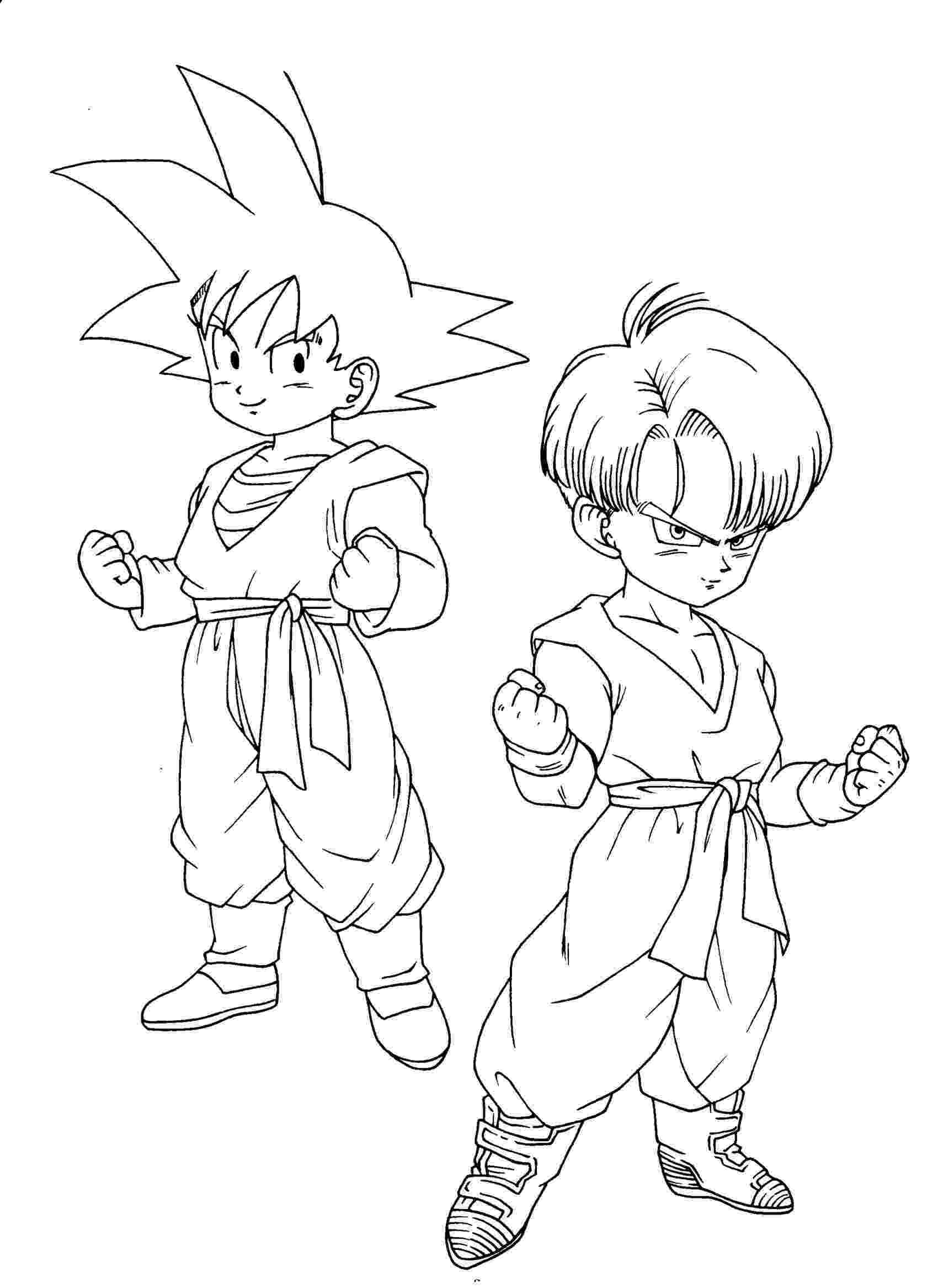 printable dragon ball z coloring pages free printable dragon ball z coloring pages for kids z dragon pages ball printable coloring