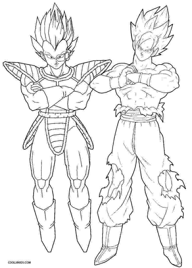 printable dragon ball z coloring pages songoten trunks dragon ball z kids coloring pages pages ball printable z dragon coloring