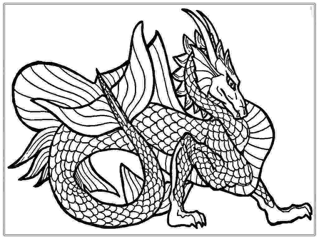 printable dragon pictures dragon coloring pages for adults to download and print for pictures dragon printable