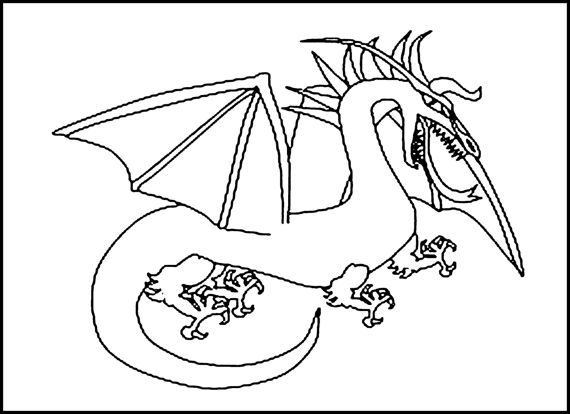 printable dragon pictures dragon coloring pages printable only coloring pages pictures dragon printable