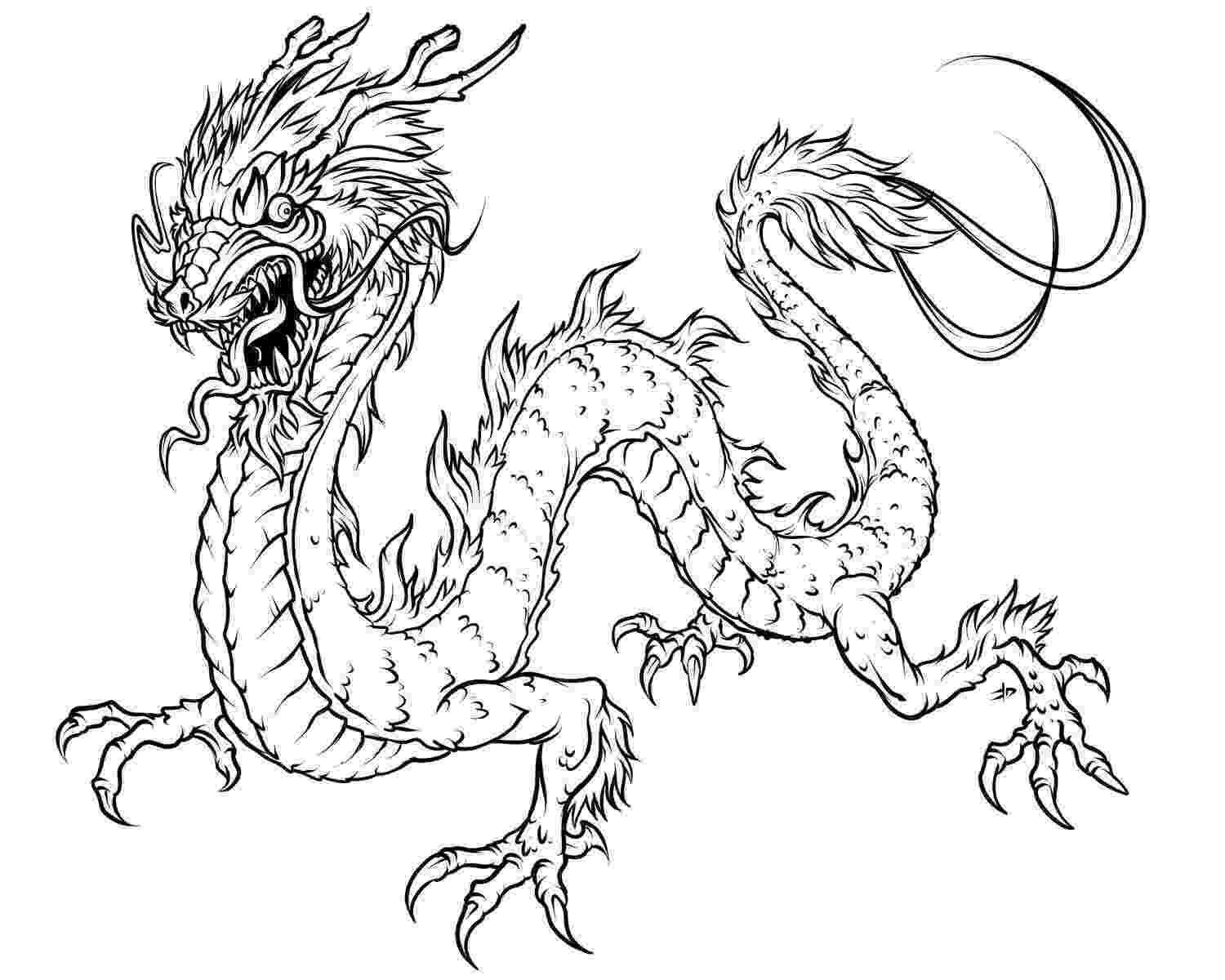 printable dragon pictures free printable chinese dragon coloring pages for kids dragon pictures printable