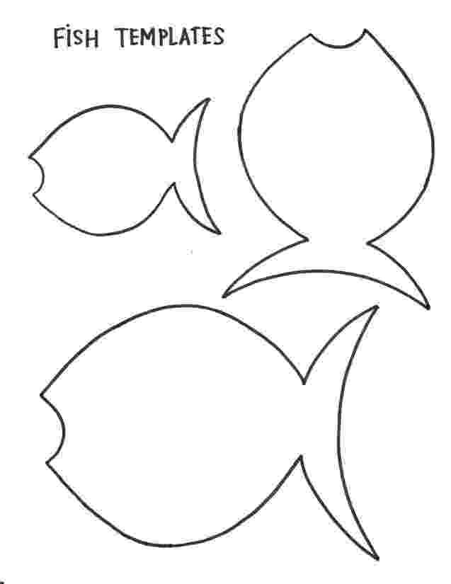 printable fish fish template ocean animal crafts pinterest bible printable fish
