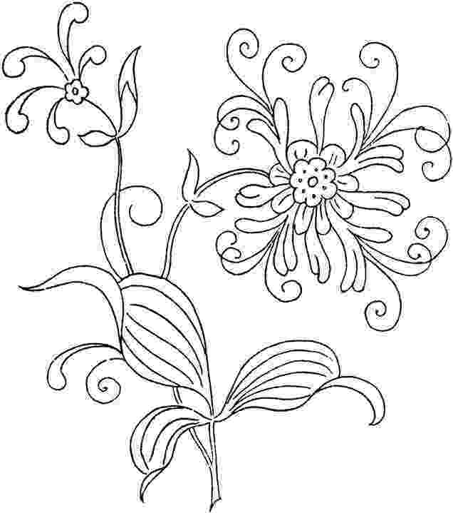 printable flower patterns to color beautiful flower coloring pages with delicate forms of flower printable to color patterns