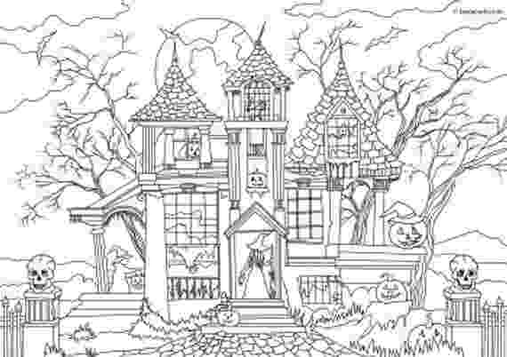 printable haunted house coloring pages haunted house colouring page 5 coloring haunted printable house pages