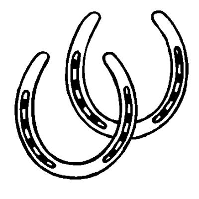 printable horseshoe template horseshoe template printable clipart 4 clipartix printable template horseshoe