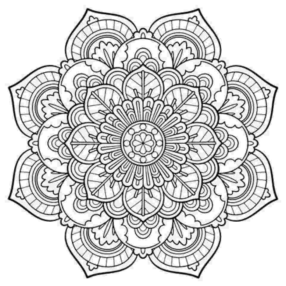 printable mandala coloring pages for adults color your stress away with mandala coloring pages skip pages for coloring adults printable mandala