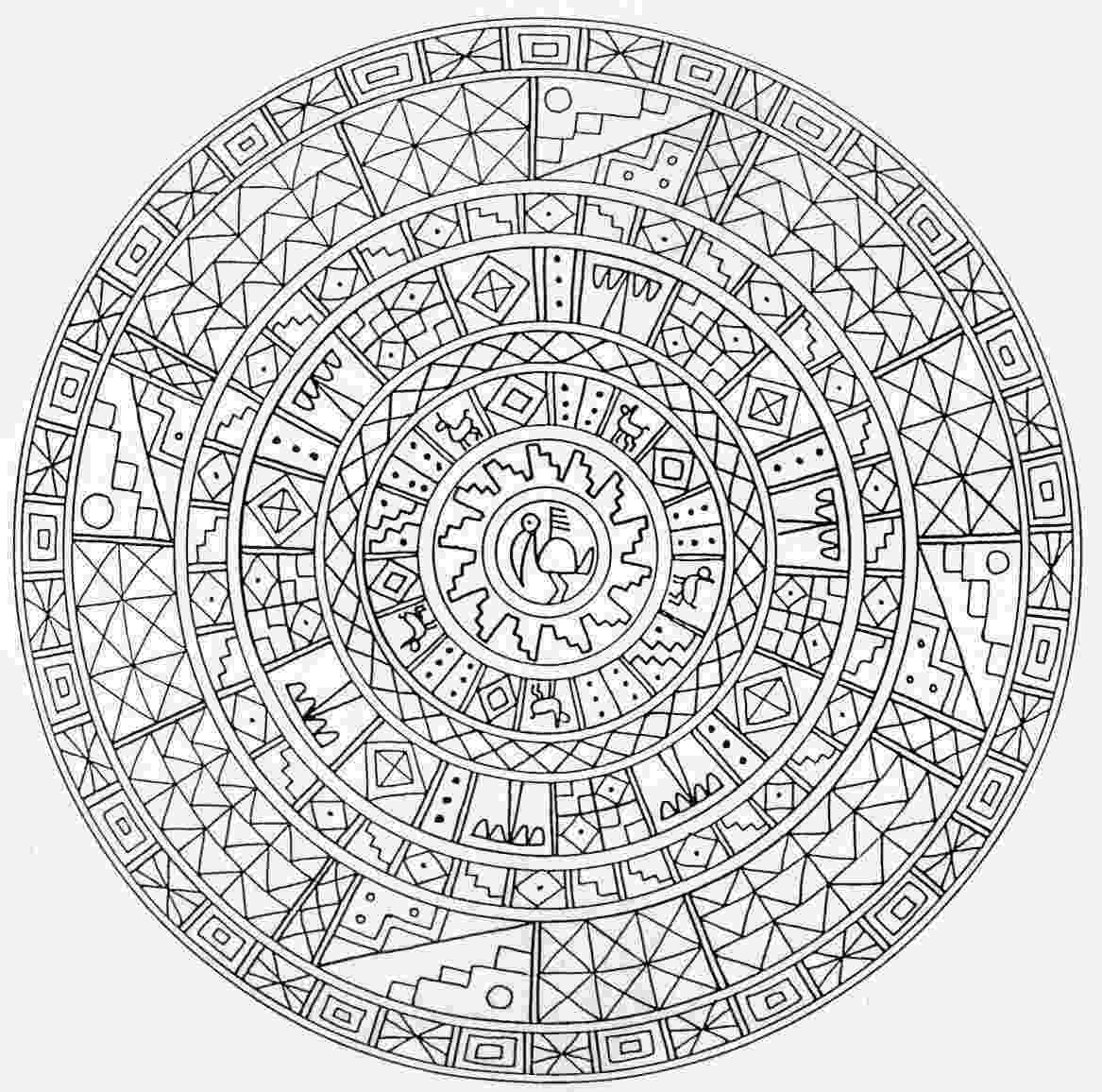 printable mandala coloring pages for adults mandala printable adult coloring page from favoreads coloring adults mandala printable for pages