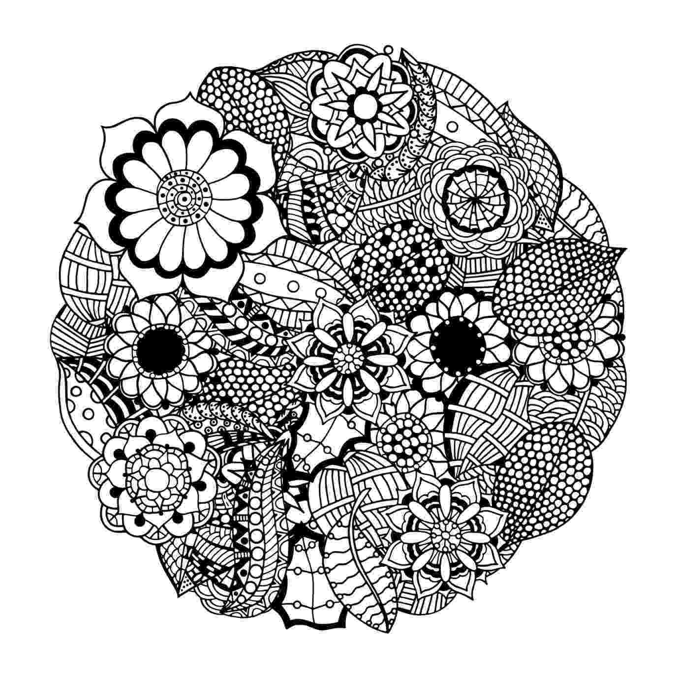 printable mandala coloring pages for adults these printable abstract coloring pages relieve stress and printable pages adults mandala for coloring