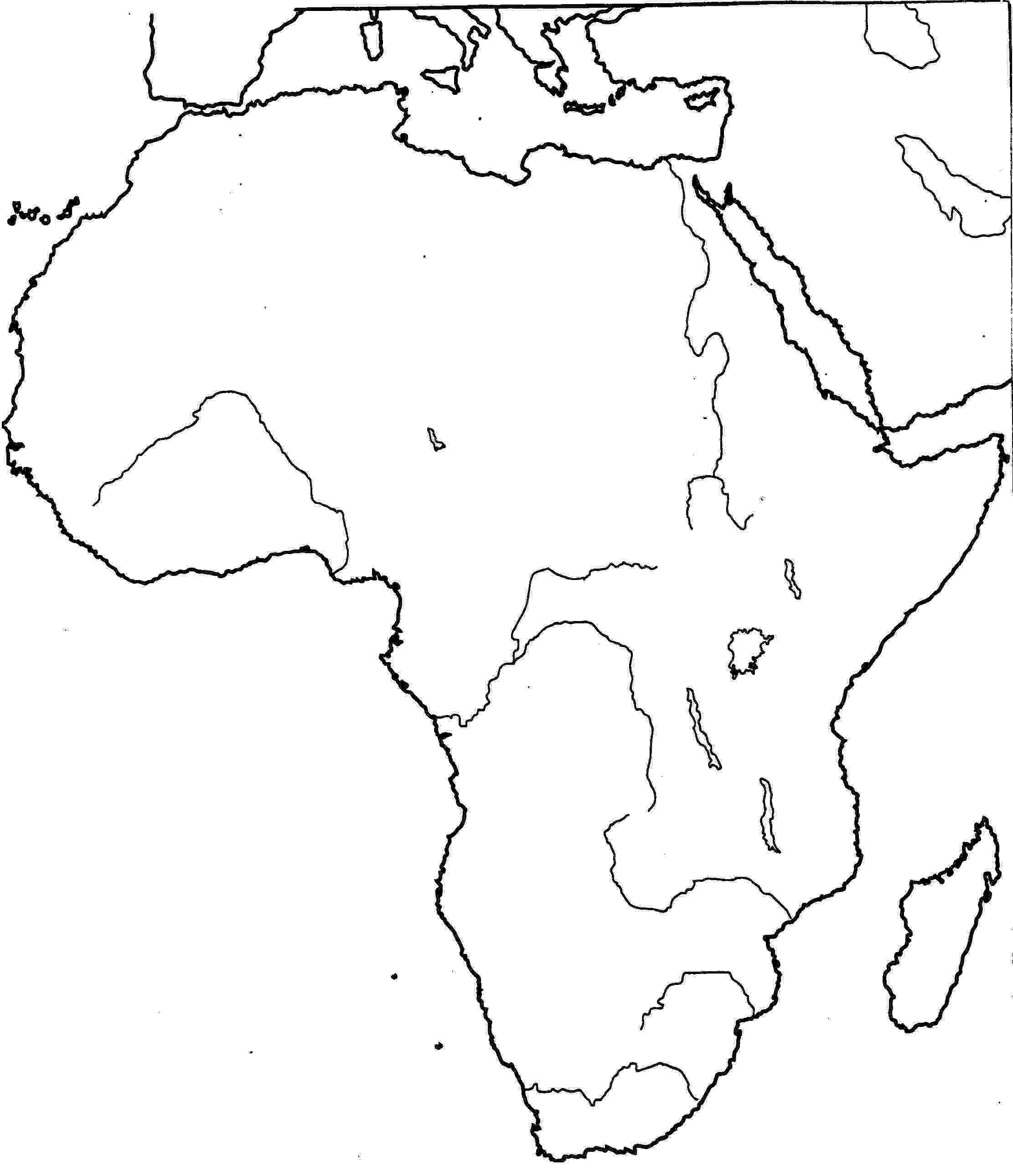 printable map of africa free puzzle piece outline download free clip art free printable of map africa